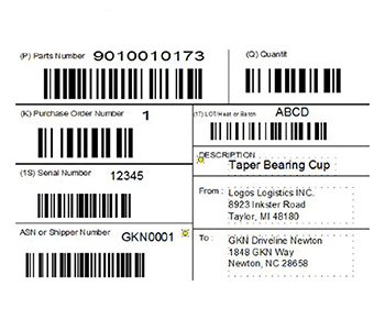 Label Screenshot